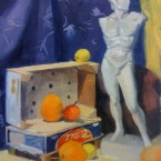 David and Oranges Still Life